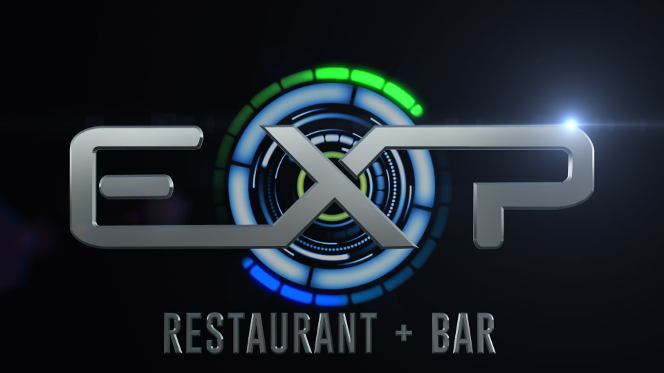 EXP Restaurant+Bar Titlesignation